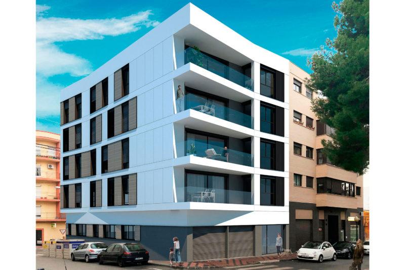 Edificio Lares ¡Nueva promoción de viviendas en Ibi!